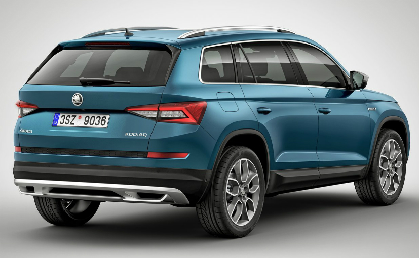 skoda kodiaq launched in india at lakh specifications price variantsauto news. Black Bedroom Furniture Sets. Home Design Ideas
