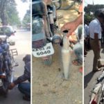 Cops in Indian States Crush Royal Enfield Bikes Exhaust Pipes Under a Road Roller