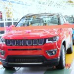 Jeep Compass Crosses 25000 Production Milestone in India and Most awarded SUV of 2017