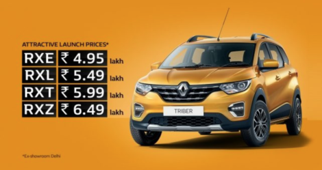 Renault Triber Launched in India