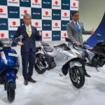 BS6 Suzuki Two-wheelers line-up showcased at Auto Expo.