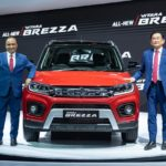 Maruti Suzuki Vitara Brezza Facelift Revealed at Auto Expo.