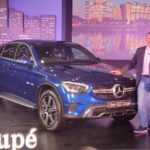 2020 Mercedes Benz GLC-Coupe SUV launched in India.